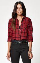 Volcom Lodge Life Plaid Flannel Shirt