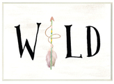 Wild with Arrows (Wood)