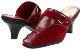 Annie Krafty (Red Velvet Suede/Red) - Footwear