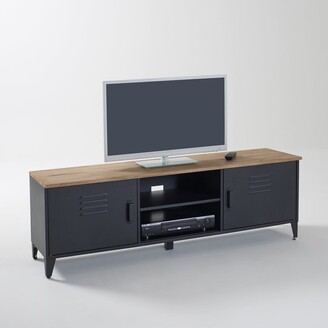 La Redoute La HIBA Steel & Oak TV Unit