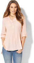 New York & Co. Soho Soft Shirt - Hi-Lo Tunic