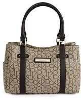 Calvin Klein Hudson Monogram Satchel Bag