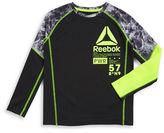 Reebok Boys 8-20 Colorblocked Athletic Top