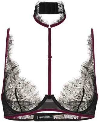 Maison Close Coup De Foudre bra with detachable harness
