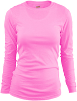 Soffe Pink Tissue Long-Sleeve Tee