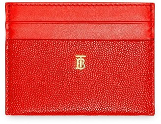 Burberry Monogram Motif Leather Card Case