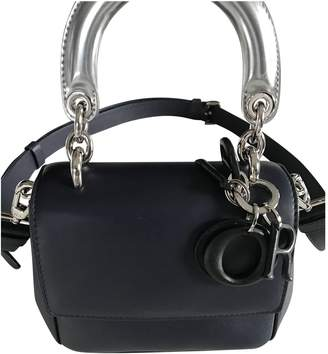 Christian Dior Be Blue Leather Handbags