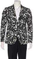 Moschino Printed One-Button Blazer w/ Tags
