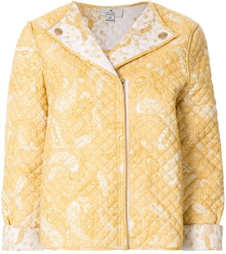 We Are Kindred Paisley Print Quilted Jacket