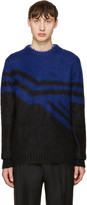 Jil Sander Blue Mohair Sweater