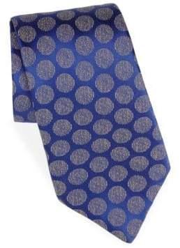 Charvet Moon Jaquard Silk Tie