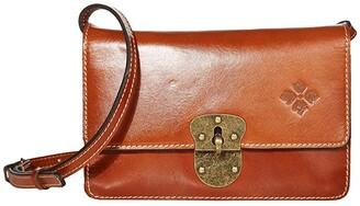 Patricia Nash Laval - Crossbody Flap (Tan) Handbags