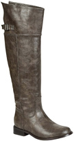 Taupe Rider Over-the-Knee Boot