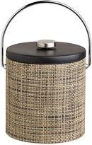 Kraftware KraftwareTM Desert Tan 3 qt. Ice Bucket with Black Vinyl Lid