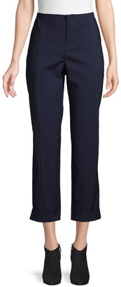 Laundry by Shelli Segal Classic Cotton-Blend Cropped Pants