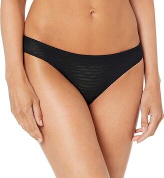 Mae Women's Stripe Bikini Panty 3 Pack