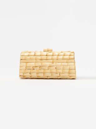 J.Mclaughlin Kendra Bamboo Clutch