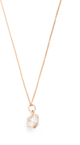 Jacquie Aiche Diamond, herkimer-quartz & rose-gold necklace