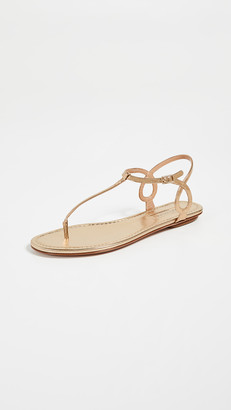 Aquazzura Almost Bare Flat Sandals