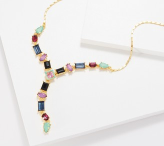 Logo by Lori Goldstein LOGO Links by Lori Goldstein Legacy Colorful Mixed Stone Necklace