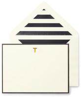 Kate Spade Monogram T Correspondence Cards - Set of 10