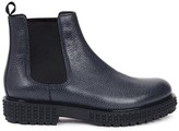Valentino Beatle Black Leather Chelsea Boots