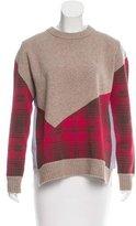 Thakoon Plaid Crew Neck Sweater w/ Tags