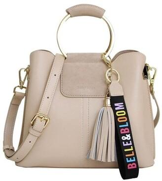 Belle & Bloom Twilight Latte Zip Top Crossbody Bag TWIX00LAT