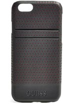 GUESS Black Perforated iPhone 6 Hard-Shell Case