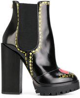 Dolce & Gabbana decorative Chelsea boots