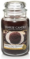 Yankee Candle Large Jar Candle, Cappuccino Truffle