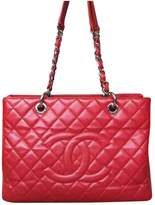 Chanel Grand shopping leather tote