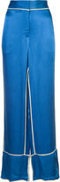 By Malene Birger Raniyah trousers - women - Polyester/Viscose - 36