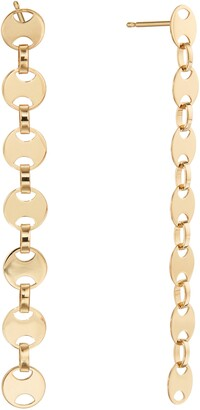 Lana Small Rodeo Chain Linear Earrings