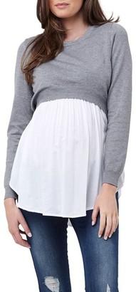 Ripe Babydoll Nursing Sweater