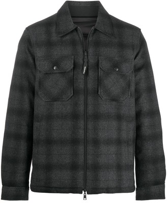 Woolrich Reversible Padded Shirt Jacket