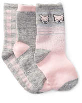 Joe Fresh Metallic Bunny Socks - Pack of 3 (Baby)