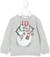 Stella McCartney snowman printed top - kids - Cotton/Spandex/Elastane - 6 mth