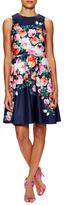 Eliza J Floral Print A Line Dress