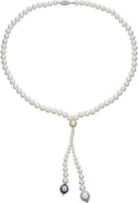 BELPEARL 14K 9-12Mm South Sea, Tahitian, & Freshwater Pearl Necklace