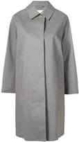 MACKINTOSH Light Teal Grey Bonded Cotton Coat LR-020