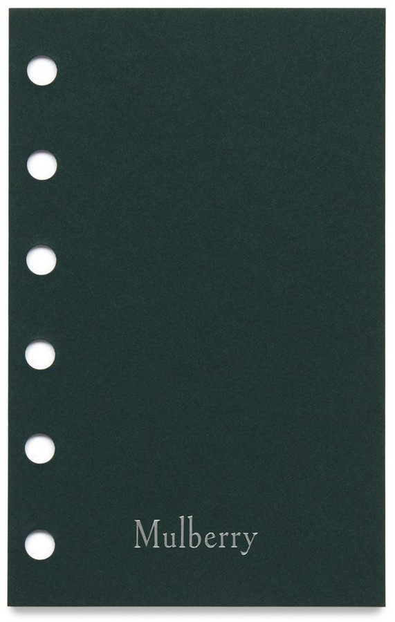 Mulberry 2021 Pocket Book Diary White