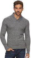 Marc Anthony Men's Slim-Fit Marled Cashmere-Blend Merino Shawl Sweater