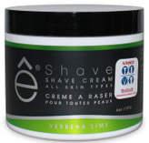 eShave e-Shave Verbena Lime Shave Cream 118ml