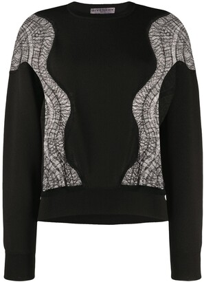 Givenchy Lace Insert Jumper