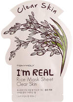 Tony Moly I'm Real rice mask sheet