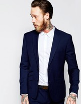 Antony Morato Suit Jacket With Stretch In Skinny