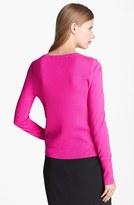 Diane von Furstenberg 'New Shara' Lace Appliqué Wool Sweater