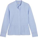 Madewell Cotton Peplum Shirt - x large
