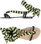 Fisico Toe strap sandals - Item 44974025